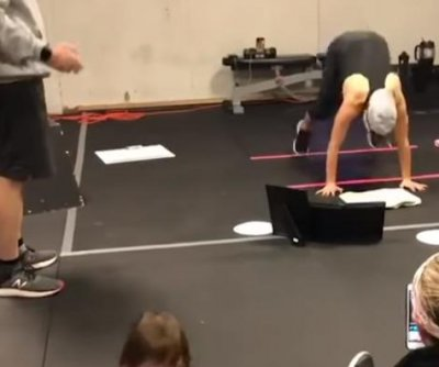 New Jersey woman gets Guinness record for doing 5,332 burpees
