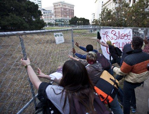 Occupy Oakland, Atlanta activists protest