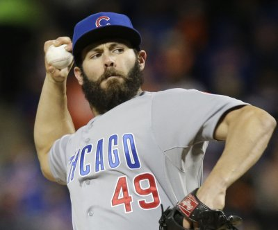 Chicago Cubs' Jake Arrieta gives up run but wins again
