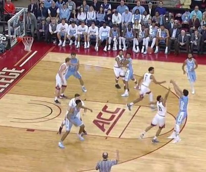 No. 9 North Carolina overcomes Ky Bowman's 33 to beat Boston College