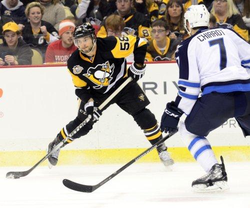Injured Kris Letang had trouble watching Pittsburgh Penguins' Stanley Cup opener