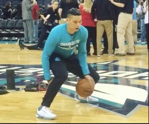 Charlotte Hornets' Jeremy Lin unveils distinctive hairstyle