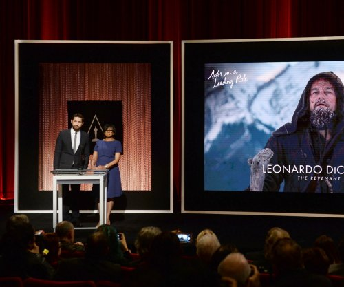 'The Revenant' leads the Oscar pack with 12 nominations