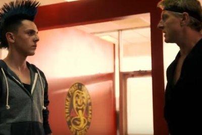 Sensei Johnny says 'Pain does not exist in this dojo' in 'Cobra Kai' clip