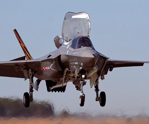 F-35 test pilot completes 1,000th vertical landing