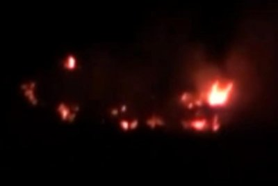 At least 26 dead in missile strikes on Syria base