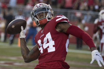 49ers sign WR Kendrick Bourne to one-year tender
