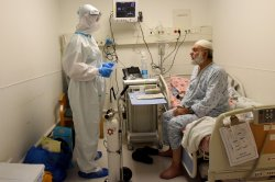 Study: 25% of hospital air samples test positive for COVID-19