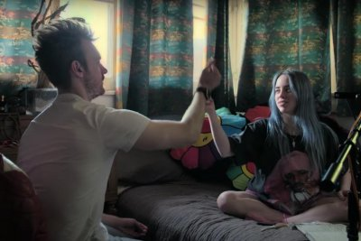 Billie Eilish records at home in trailer for Apple TV+ documentary