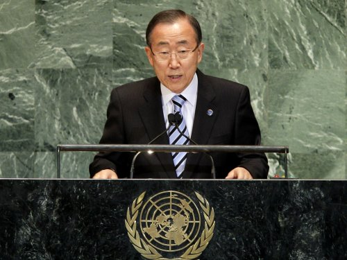 Ban Ki-moon: Syrian civil war death toll tops 100,000