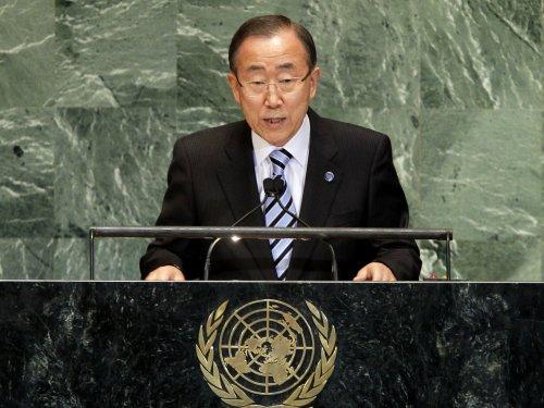 Ban Ki-moon: Syrian civil war death toll tops 100,000