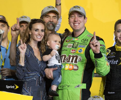 Kyle Busch wins first Sprint Cup championship