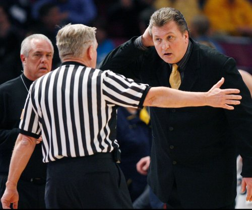 Bob Huggins: On-court scare caused by defibrillator going off