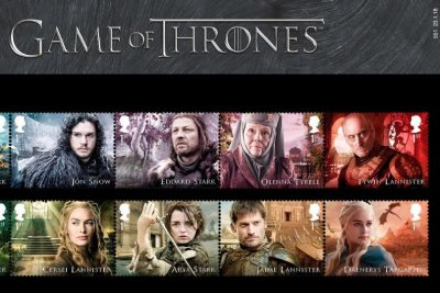 'Game of Thrones' stamp collection coming from the U.K.'s Royal Mail