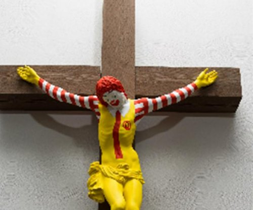 Sculpture of crucified Ronald McDonald to be pulled from Israel museum