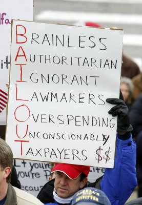 Obama faces tax-protest anger