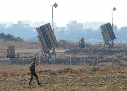 Raytheon to supply components for Israel's Iron Dome interceptor