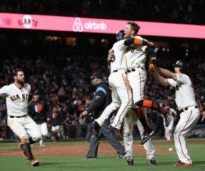 Michael Morse clutch home run leads to San Francisco Giants win over Los Angeles Dodgers