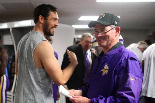 Mike Zimmer: Minnesota Vikings coach missing OTAs, back in 'a few weeks'