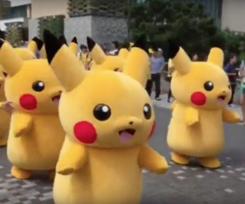 Hundreds of Pikachu march through Japan for Pokemon parade