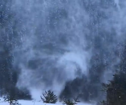 Rare snownado caught on camera at national park in Poland