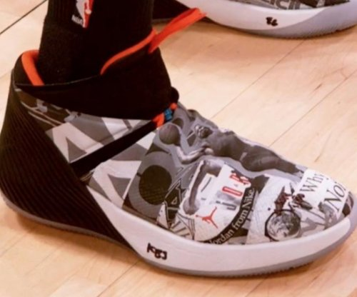Thunder's Russell Westbrook drops signature shoes, asking Why Not?