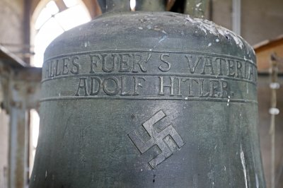 'Spring cleaners' scrape swastika off church bell in Germany