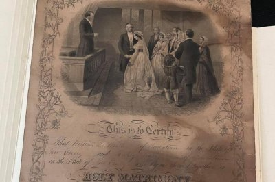 Thrift store seeking family connected to 146-year-old marriage certificate