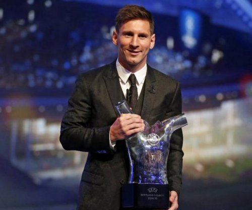 Lionel Messi named UEFA's best player