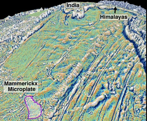 Scientists locate the collision that birthed the Himalayas