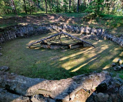 Escape tunnel found at Holocaust burial site in Ponar, Lithuania