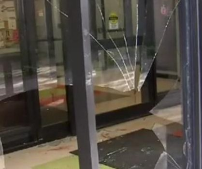 Deer breaks through window to enter Indianapolis apartment building