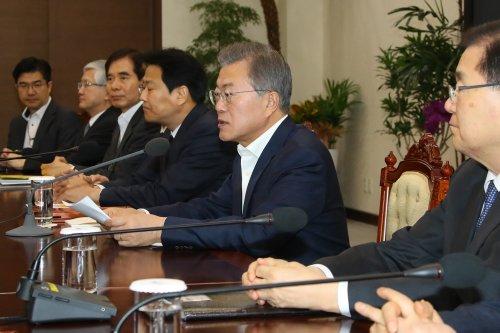 South Korean president: trilateral summit between Seoul, U.S., North Korea possible