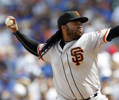 Angels face Cueto in rubber game vs. Giants