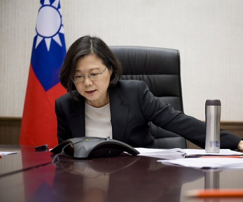 Taiwanese president calls for safeguarding of democracy