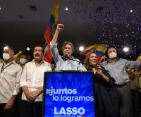 Conservative Guillermo Lasso wins Ecuador's presidential runoff