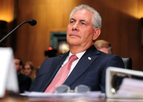 Exxon's Tillerson makes case for 'pro-energy policies'