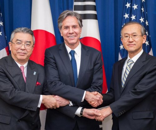 U.S., South Korea, Japan push for North Korea's 'irreversible denuclearization'