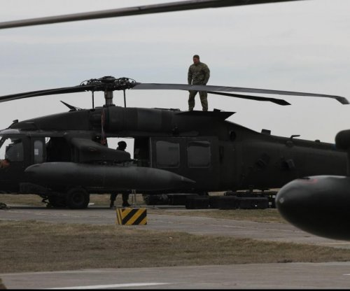 U.S. Army Black Hawks reach Romania for NATO support operation