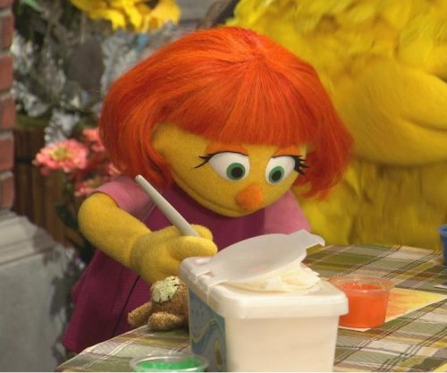 'Sesame Street' introduces Julia, a muppet with autism