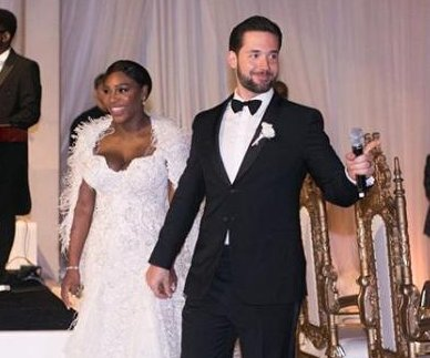 Serena Williams, Alexis Ohanian share photos from lavish wedding