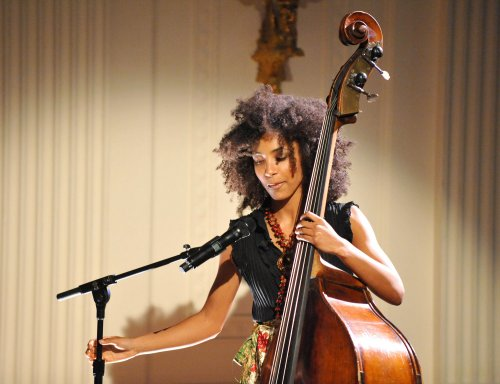 Jazz, poetry at White House, taped for HBO