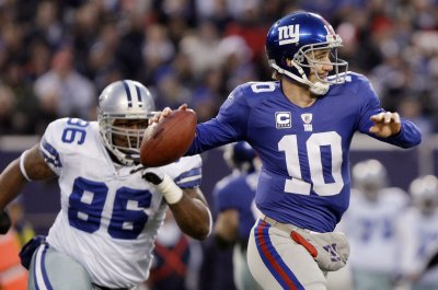 NFL: N.Y. Giants 31, Dallas 24