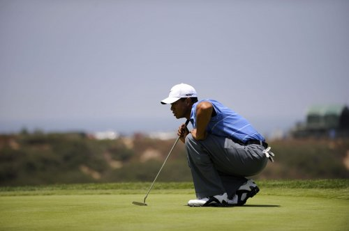 Tiger Woods in the hunt at U.S. Open