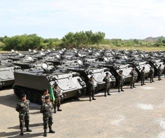 Philippines officially marks receipt of U.S. armored vehicles