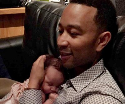 Chrissy Teigen's daughter has heard John Legend's new album