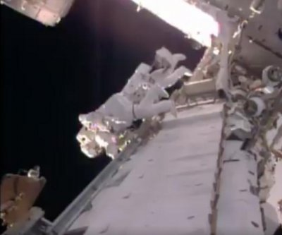 NASA, ESA astronauts install new lithium ion batteries on ISS