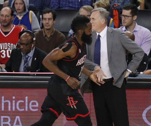 Houston Rockets head coach Mike D'Antoni: James Harden needs more rest next season