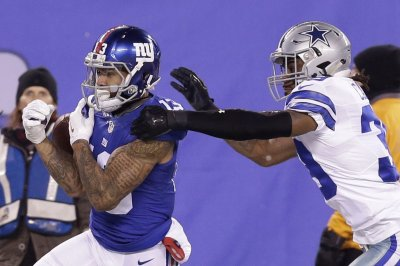 Notebook: Giants unlikely to deal Beckham