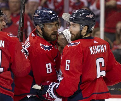 Stanley Cup Playoffs: Capitals beat Lightning in Game 1